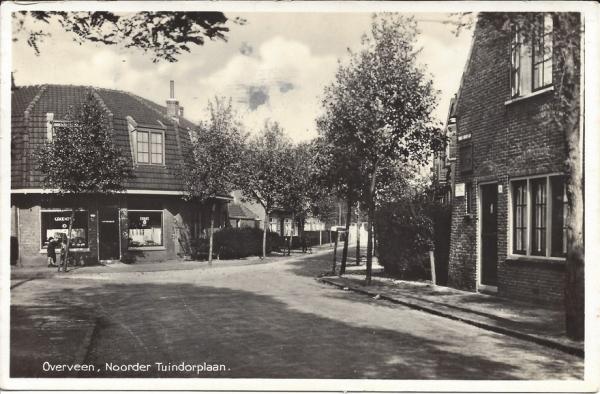 Noorder Tuindorplaan, 1937
