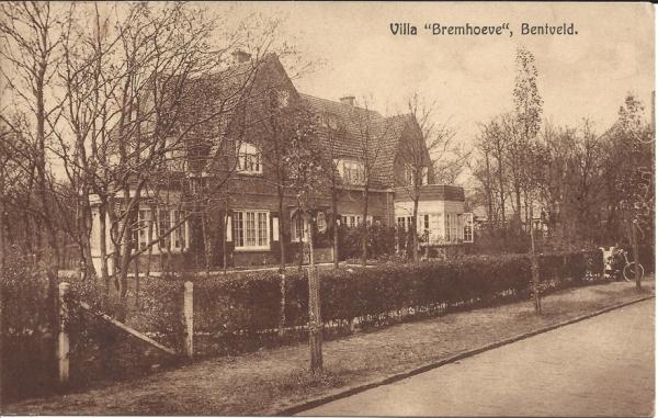 Hoplaan 5, Bentveld, villa Bremhoeve