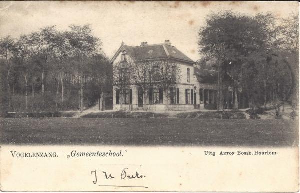 Graaf Florislaan, Graaf Florisschool, 1901