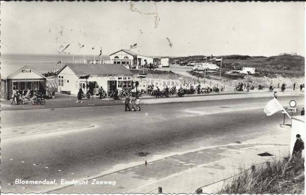 Zeeweg, B'daal aan Zee, 1961