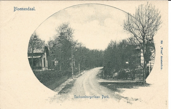 Saxenburgerweg, 1900