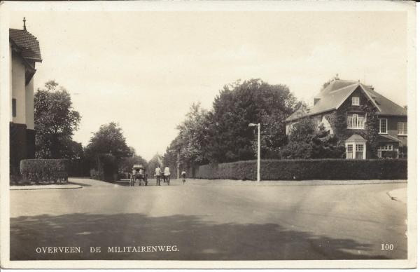 Militairenweg, hoek Ter Hoffsteedeweg, 1931