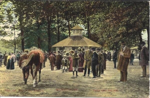 Woestduin, Renbaan Woestduin, 1908
