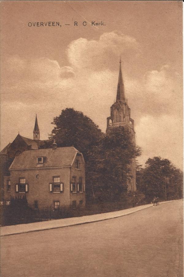 Korte Zijlweg, O.L.V. Kerk, 1927