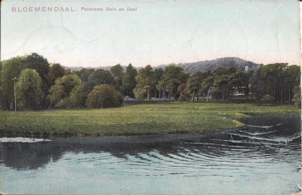 Lage Duin en Daalscheweg, Hotel Duin en Daal, 1905