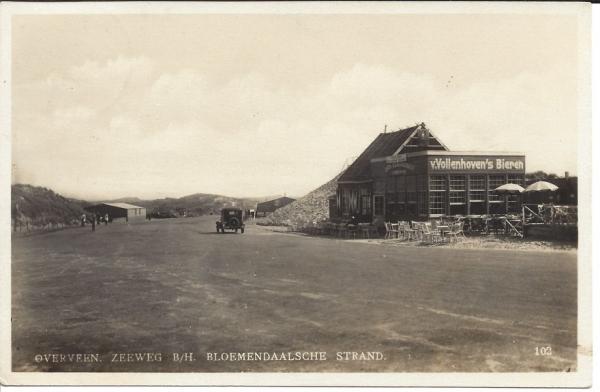 Zeeweg, B'daal aan Zee, 1931