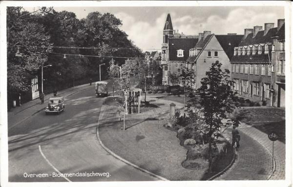 Bloemendaalscheweg, hoek Zijlweg, 1944