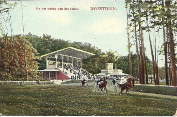 Woestduin, Renbaan Woestduin, 1913 (6)
