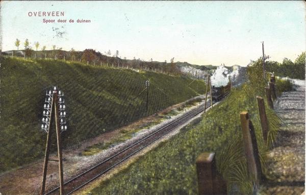 Tetterodeweg, Station, 1909