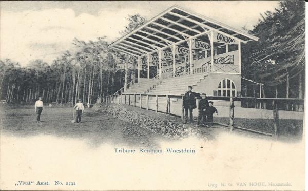 Woestduin, Renbaan, Tribune, 1903