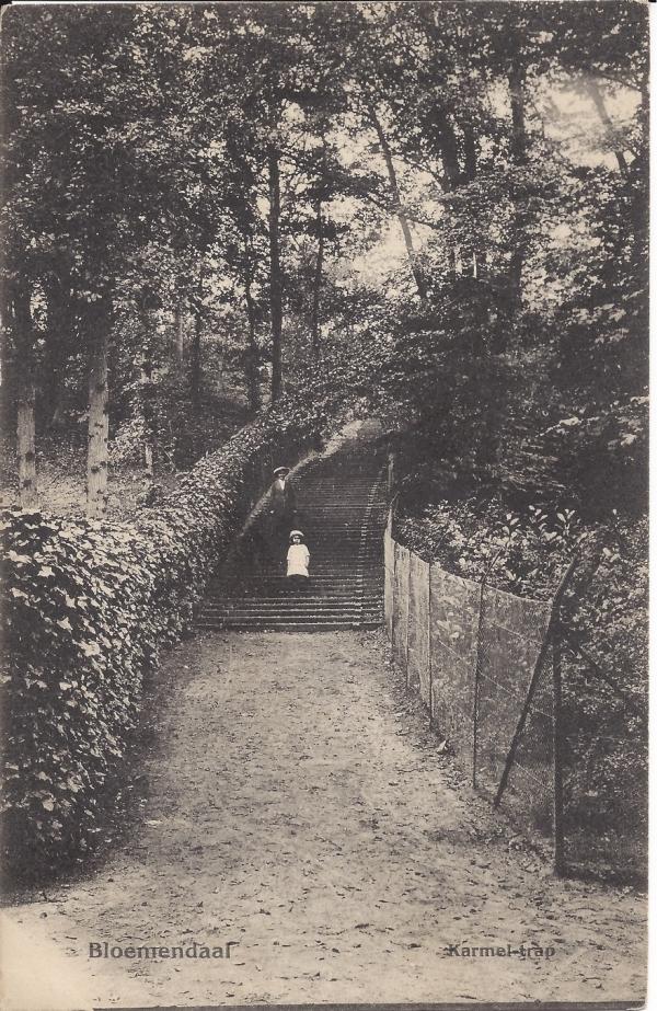 Midden Duin en Daalscheweg, Karmeltrap, 1911