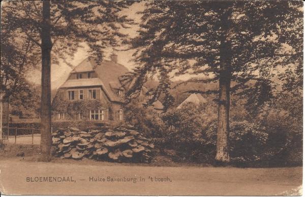 Mollaan, Huize Saxenburg, 1929