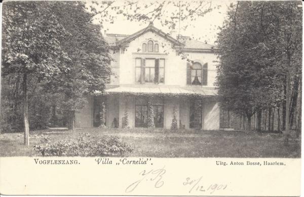 Vogelenzangscheweg, Villa Cornelia, 1902