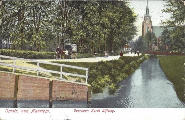Korte Zijlweg, O.L.V. Kerk, 1907