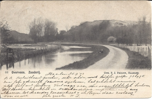 Duinlust, Zanderij, 1903
