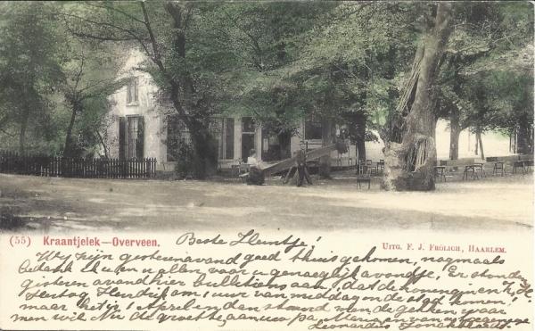Duinlustweg, Kraantje Lek, 1902