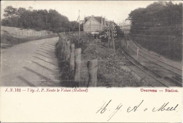 Tetterodeweg, Station, 1902