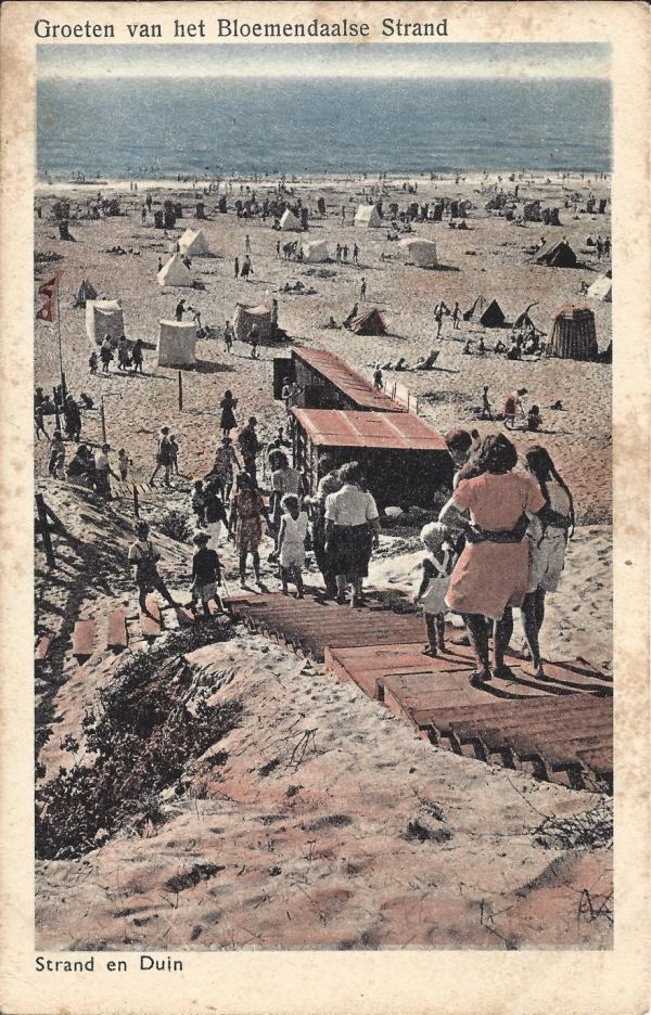 Zeeweg, B'daal aan Zee, 1956 (2)