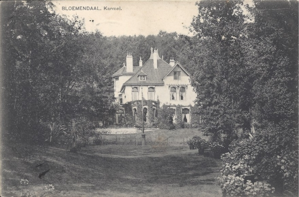 Midden Duin en Daalscheweg, Huize Karmel, 1909