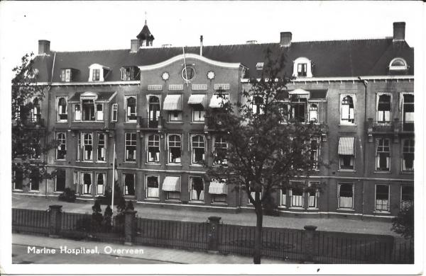 Bloemendaalscheweg, Marine Hospitaal, 1951