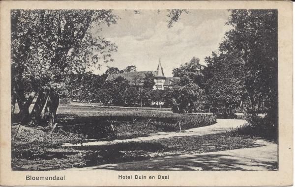 Lage Duin en Daalscheweg, Hotel Duin en Daal (5)